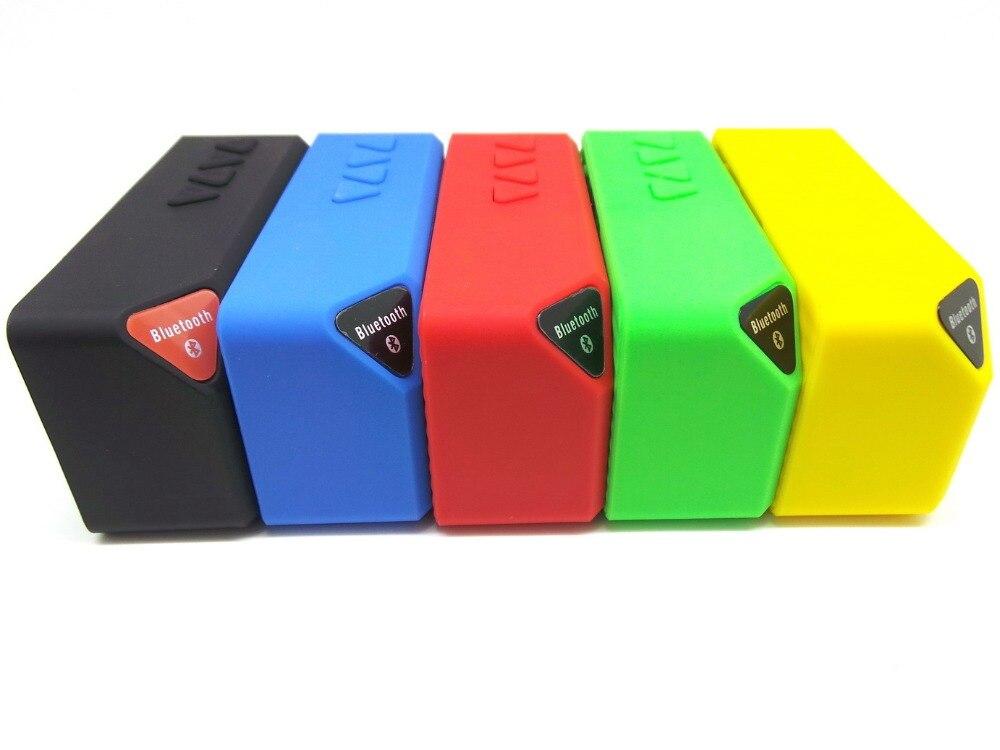 Mini X3 Bluetooth Haut-Parleur Portable Sans Fil Mains Libres TF FM Radio Construit en Mic MP3 Subwoofer pour ordinateur téléphone