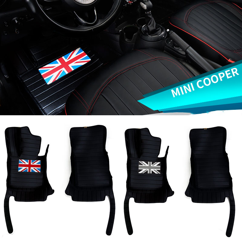 Neuf Tapis de Chauffeur Mini Clubman R55 Cooper One Jcw R56 Velours Voiture