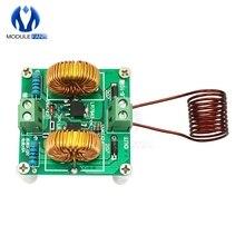 DIY наборы Mini ZVS Tesla Высоковольтная генераторная катушка высокочастотная индукционная нагревательная машина Модульная плата