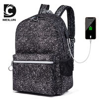 Laptop Backpack USB Charging Leisure Travel backpack School Bag for Men Women Large Capacity Backpack ML023