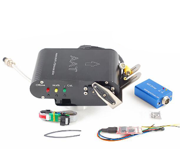 6 channels MYFLYDREAM AAT Automatic Antenna Tracker V5.0 For Long Range FPV aat convert module for other brand osd the newest skylark automatic aerial conversion antenna tracking cooperate with use new
