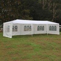 Открытый Отдых зонт складной шатер тени 3 м x 9 м сад вечерние отдых летом тент Пергола пляж солнце shelter