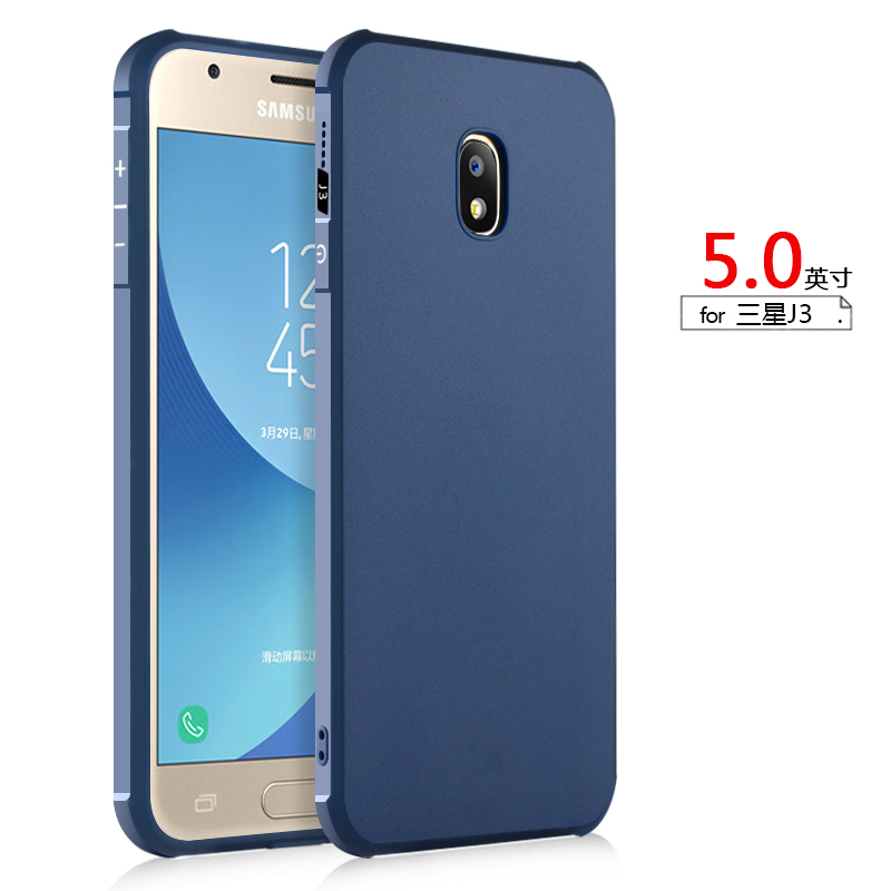 For Samsung J3 Phone Case Plastic Ultra Thin Soft Silicon Dragon Design Protector Back Cover Shock Proof Housing For Samsung J3