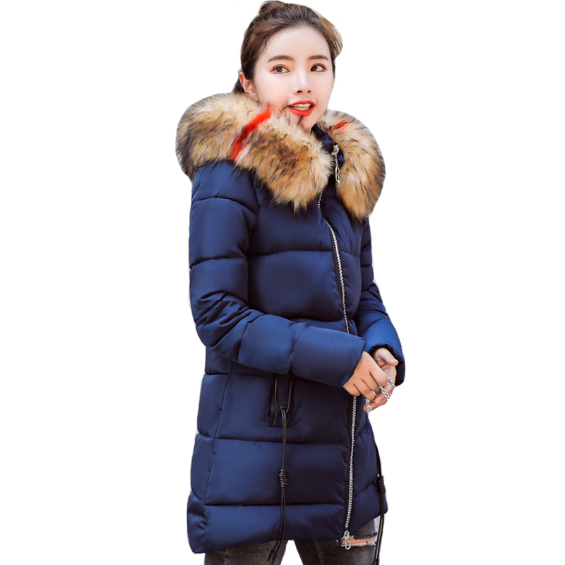 2019 New Arrival Women Winter Jackets Outwear For Womens Winter Coat Coats Hooded Cotton Padded Parka Chaqueta Mujer Warm