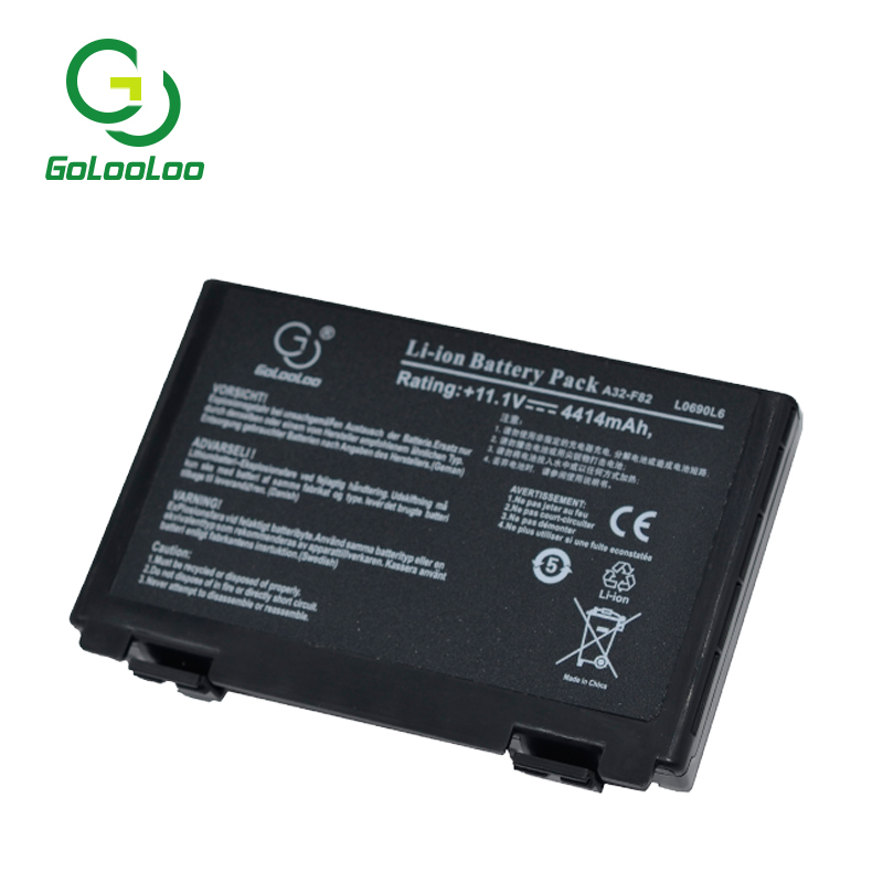 Golooloo bärbar dator för Asus A32-F82 A32-F52 F52 k40in K50 K50iJ - Laptop-tillbehör - Foto 4