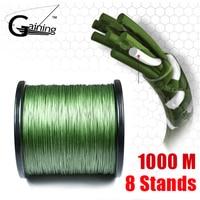 8 Strands Braided Fishing Line 1000m Super Strong Japanese Braided Line Multifilament Polyethylene PE Braid Line