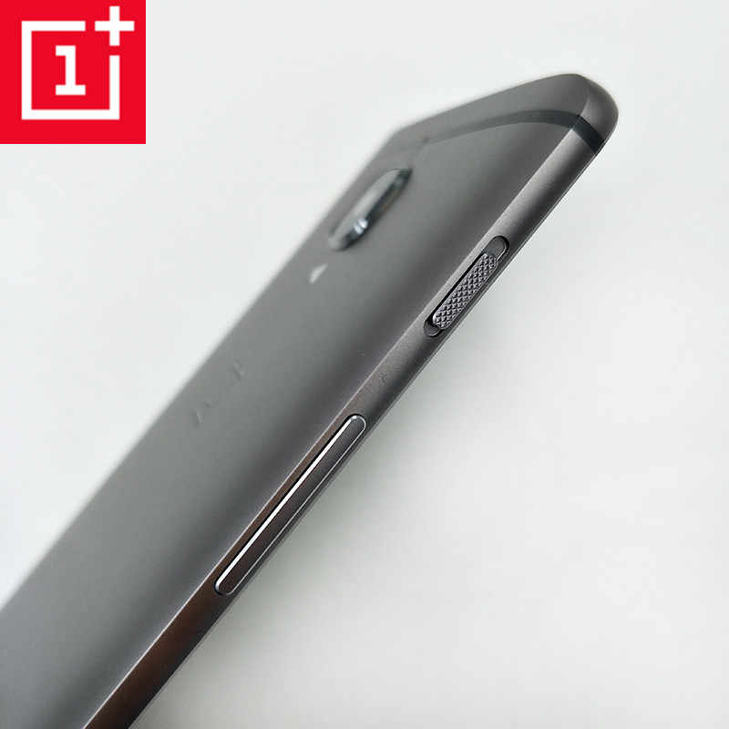 online retailer 5162c e4a97 Original ONEPLUS 3 3T Three Metal Rear Housing Cover Replacement Back Door  Battery Case Card Slot/Side Button/Lens Glass Gray
