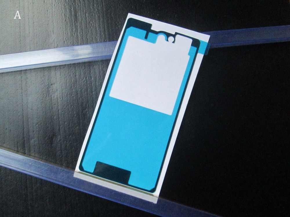 شريط لاصق جديد من BLINGIRD ملصق لسوني اريكسون Z1 المدمجة Z1 Mini D5503 M51w غلاف البطارية الخلفي