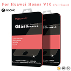 """Mocolo Full Cover Glass For huawei Honor V10 Tempered Glass Screen Protector Film For huawei honor view 10 Glass Film 5.99"""""""