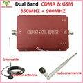 De doble Banda Celular Amplificador de Señal CDMA GSM Repetidor GSM 850 900 Del Teléfono Móvil Repetidor de Señal Amplificador de Señal para Los Hogares/oficinas