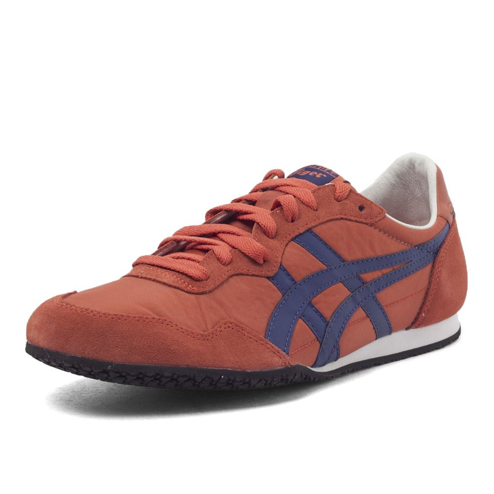 2017 Onitsuka Tiger Breathable Men Sport Shoes SERRANO Men Sneakers Lightweight Outdoor Men Jogging D109L peak sport men outdoor bas basketball shoes medium cut breathable comfortable revolve tech sneakers athletic training boots