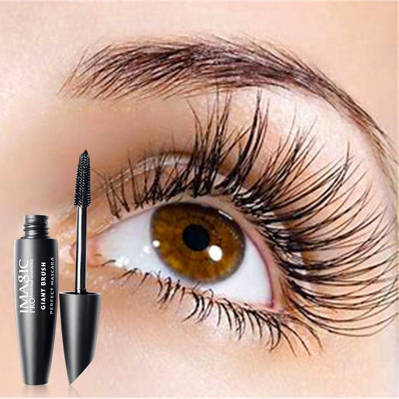 Image 4 - IMAGIC 4 шт. Косметика для макияжа, тушь для ресниц черного цвета, подводка для глаз, карандаш, 14 видов цветов, блестящие тени для век с ручкой для бровейmascara eyeliner14 colors eyeshadoweyeliner mascara -
