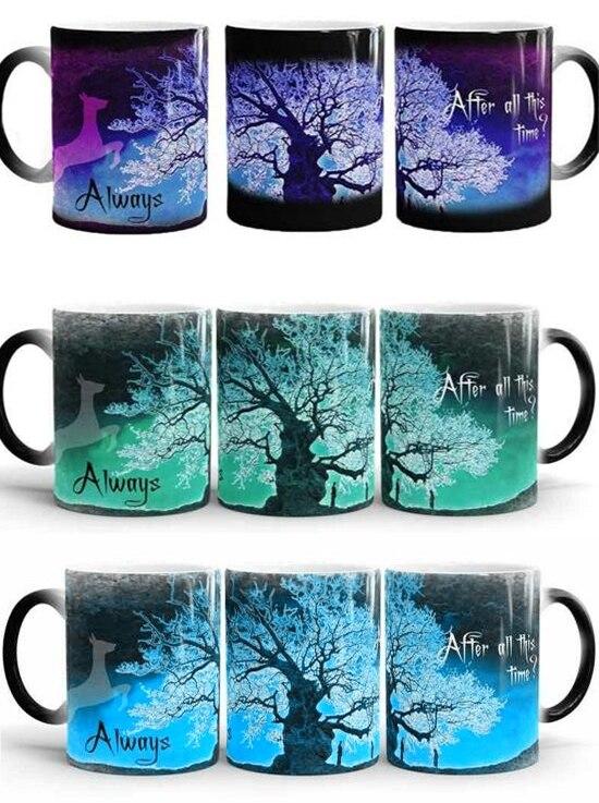 marauder s map mugs magic mug heat sensitive snape mug ceramic beer tea cups marauders map