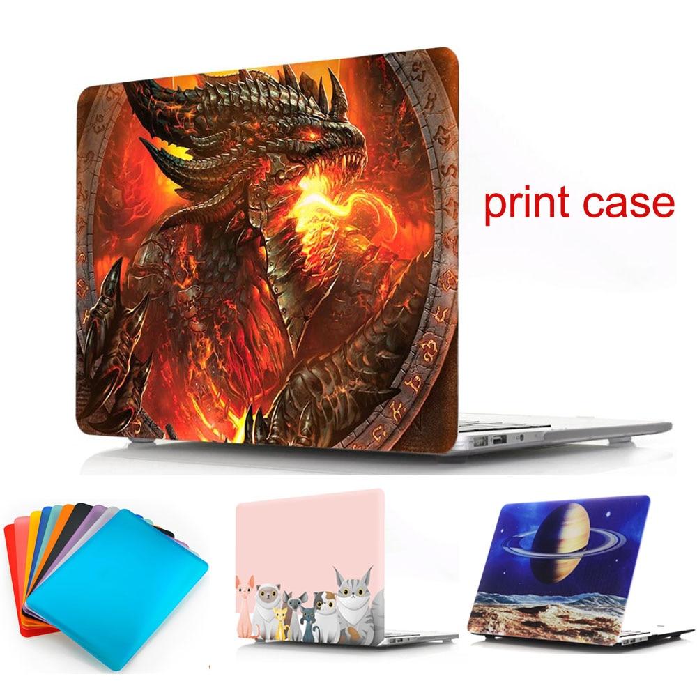 매트 노트북 케이스 MacBook 책을위한 보호 쉘 맥북 - 노트북 액세서리