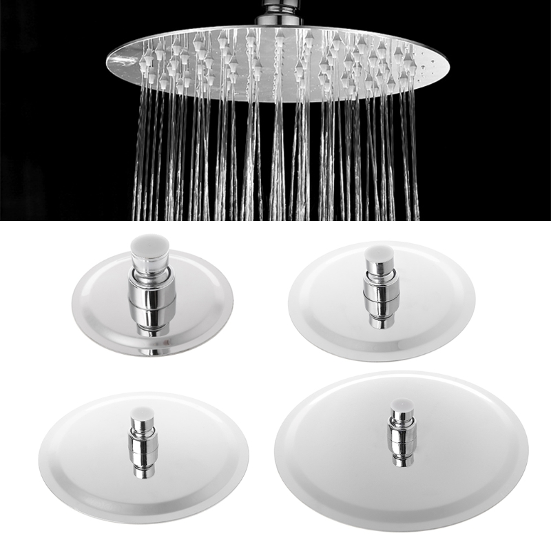 4/6/8/10inch Round Stainless Steel Bathroom Swivel Rainfall Shower Head Faucet Water Rainfall Ultrathin
