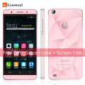 Free Case Gooweel M5 Pro mobile phone MT6580 quad core 5 inch IPS  smartphone 1GB RAM 8GB ROM 5MP+8MP camera GPS 3G cell phone