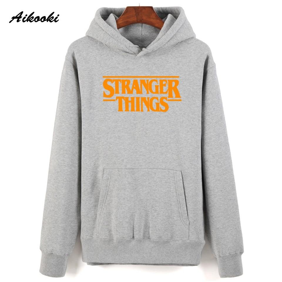 Hoodie Stranger Things Hoodies Sweatshirt women/men Casual Stranger Things Sweatshirts Women Hoodie Men's 44