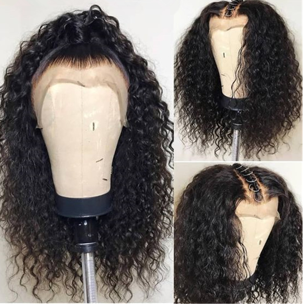 360 Lace Frontal Wig Pre Plucked With Baby Hair Deep Wave Lace Front human Hair Wigs