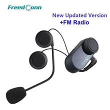 Aktualisiert Version! Original FreedConn T COM VB Motorrad BT bluetooth Multi Sprech Headset helm intercom Kostenloser Versand!!