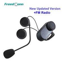 업데이트 버전! 원래 FreedConn T COM VB 오토바이 BT 블루투스 멀티 인터폰 헤드셋 헬멧 인터폰 무료 배송!