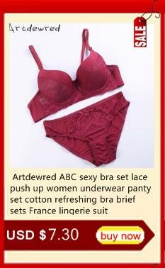 Женский сексуальный комплект нижнего белья, кружевной комплект нижнего белья пуш-ап размера плюс, комплект с бюстгальтером из льна, красный... 16