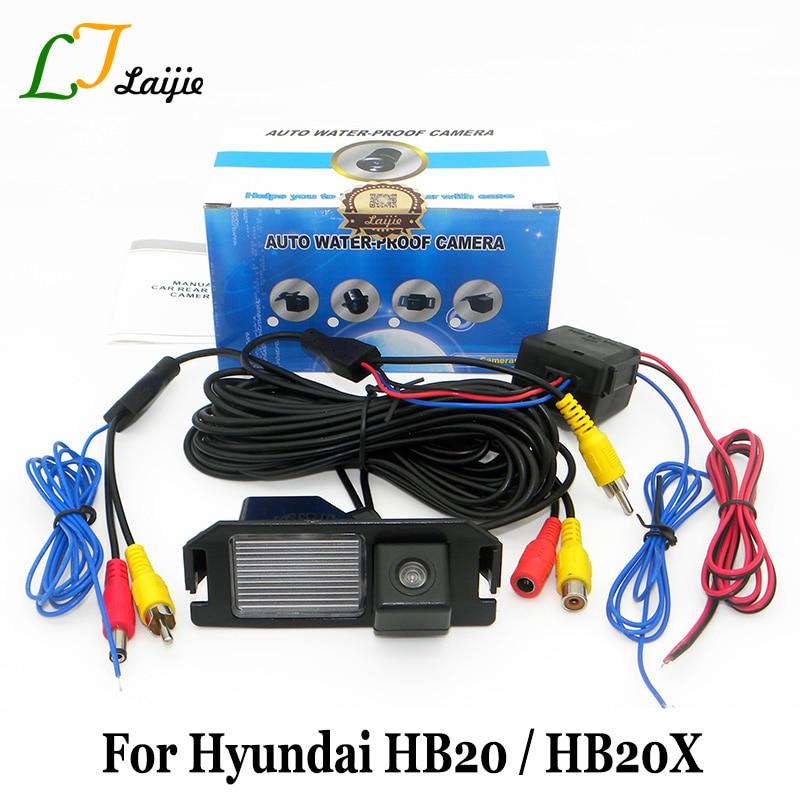 Kamera e parkimit të automjeteve Laijie për Hyundai HB20 HB20X / - Elektronikë e makinave