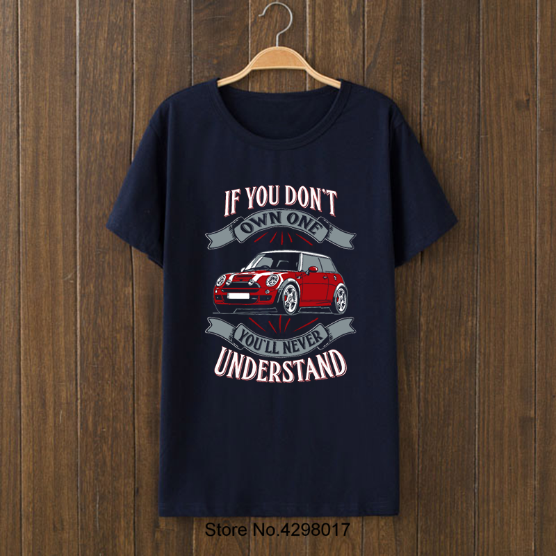 Personalized Mini Cooper Owner Car Tshirt Man Plus Size 3xl 2018 Slogan Men S Trend Fitness Hombre Tee Tops In T Shirts From Clothing