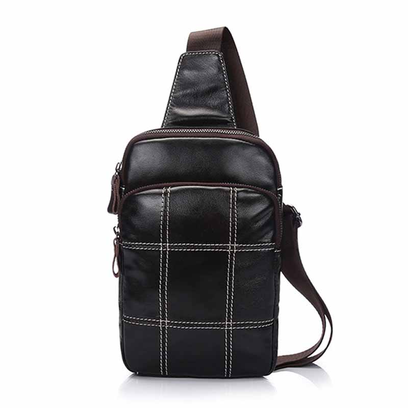 Neweekend Simple Genuine Leather Men Bag Man Crossbody Shoulder Bag Men Small Business Bags Male Messenger Leather Bags BF2025