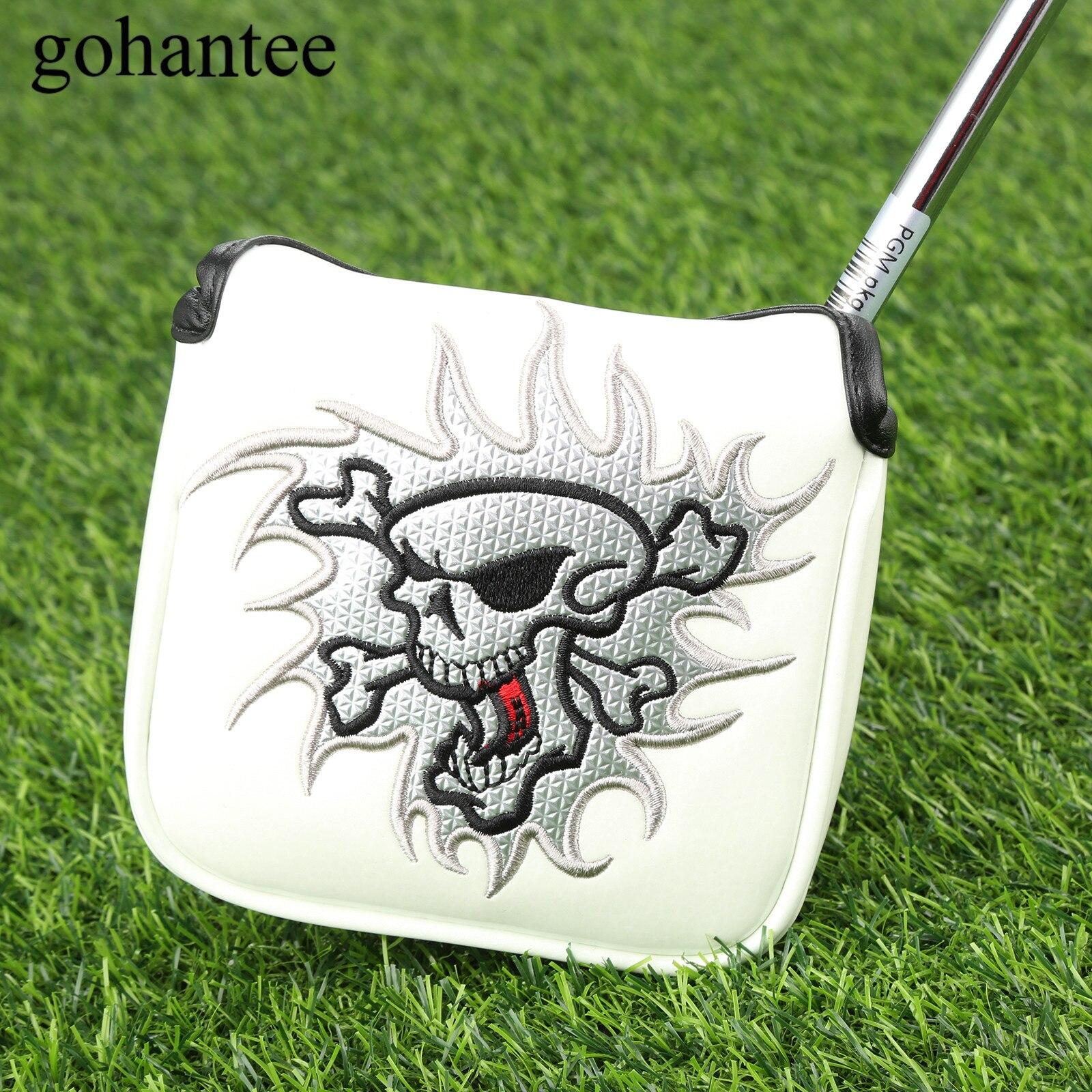 1 шт. квадратный гольф клюшки шлем из искусственной кожи гольф клуб головные уборы с магнитной застежкой подходит для всех молоток Стиль клю...