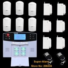 ЖК-Клавиатура Беспроводная GSM Главная Охранной Сигнализации с 850/900/1800/1900 МГц