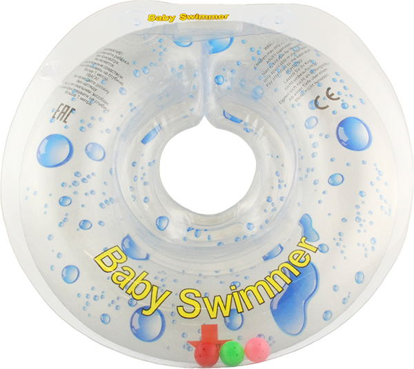 Children's neck swimming ring Baby Swimmer inflatable children swimming ring seat pool floating boat