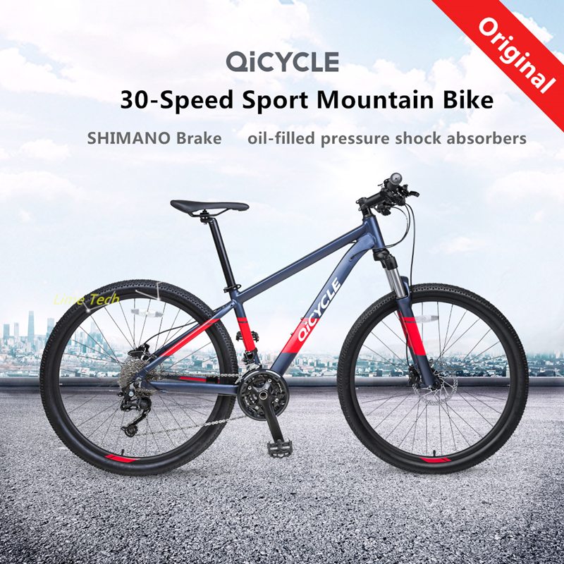 XIAOMI QiCYCLE 30speed Sport Mountain Bike  27.5inch Wheel Variable Speed Bicycle With Hydraulic Disc Brakes And Shock Absorbers