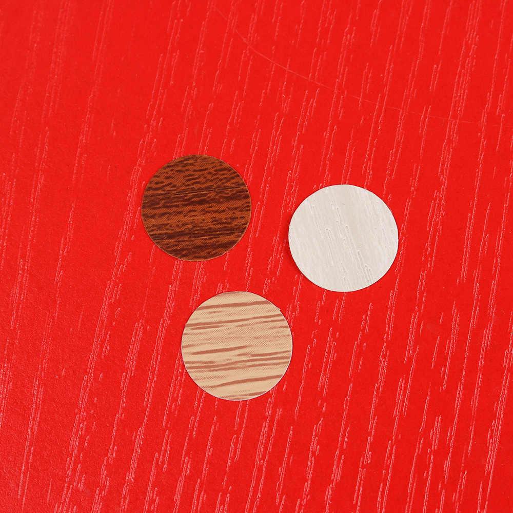 96 шт/лист 15 мм самоклеющиеся декоративные пленки винт для мебели чехол наклейки на колеса деревянный корабль стол Шкаф орнамент