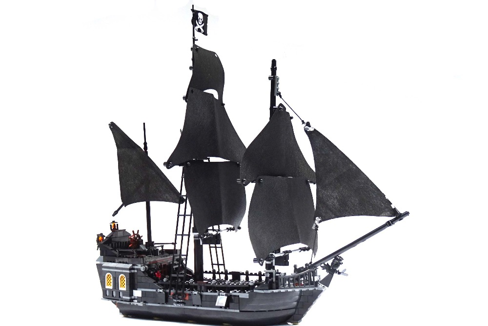 CX 16006 Models building toy kits Pirates of the Caribbean The Black Pearl Ship Building Brick Blocks Compatible with lego 4184 caribbean warship pirates of the caribbean black pearl ship ghost ship large models building blocks educational birthday gift