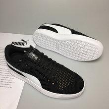 Original 2018 Puma Breathable Men s Leather Sneakers Breathable sports shoes  Badminton Shoes size40-44 f389c59d1