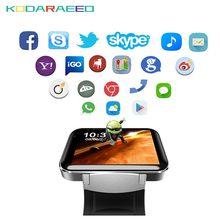 DM98 Smart Watch phone  Android With GPS 3G SIM Card Pedometer Sports Tracker Smartwatch Men 900mAh Wifi BT4.0 Wristwatch
