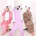Животных Взрослый Мужской Hello Kitty Cat Хэллоуин Onesies Взрослых Kigurums Sleepsuit Животных Косплей Костюм Пижамы Onesies