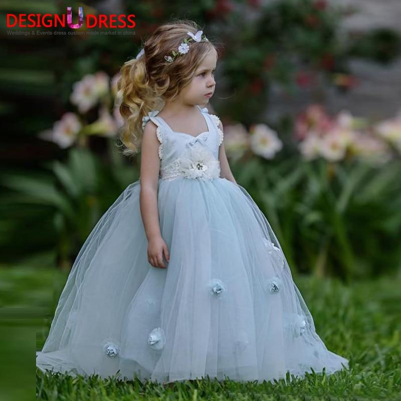 Beach Wedding Flower Girl Dresses