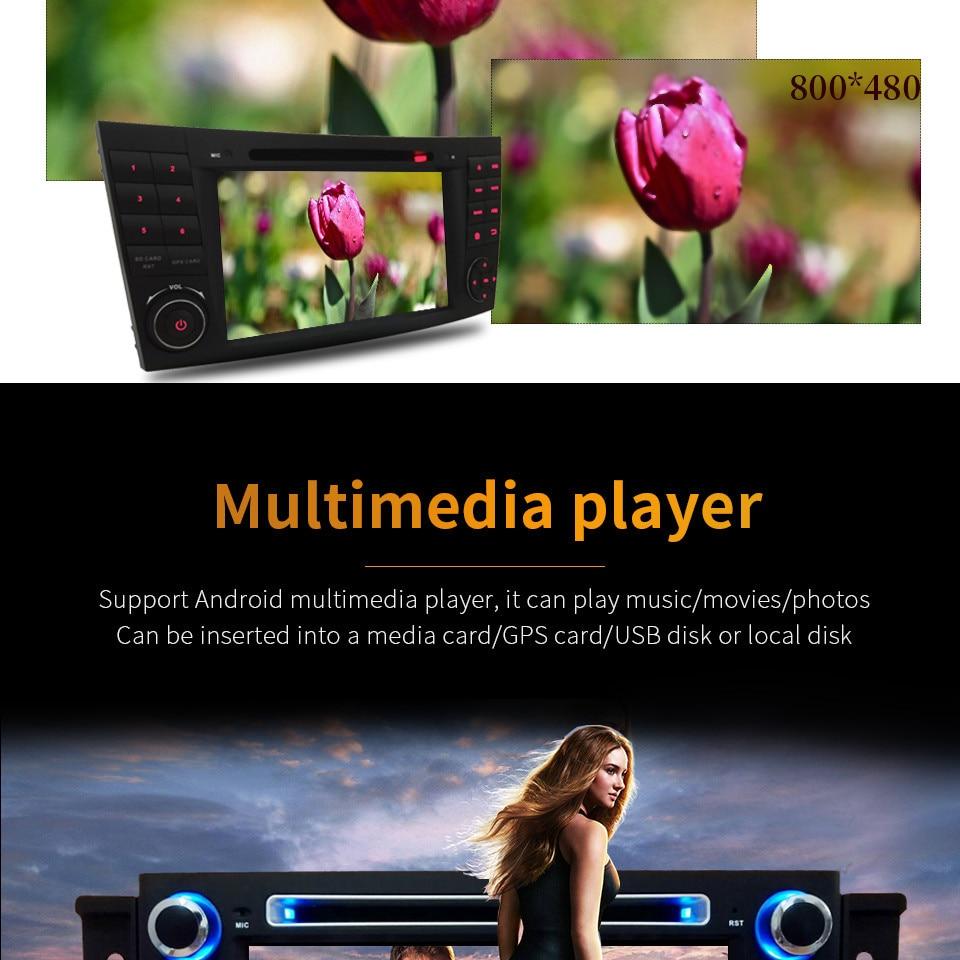 "Excellent 7"" Octa Core 4G WIFI Android 8.1 4GB RAM 64GB ROM RDS Car DVD Multimedia Player Stereo Radio For BMW E90 E91 E92 E93 2005-2012 18"