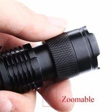 Adjustable Mini LED Flashlight 2000 LM
