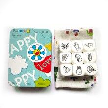 Рассказ Happy Story игральные кости настольные игры семья игра-головоломка увеличить представить для детей лучший подарок