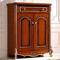 Античная раздвижные уоден зерна дверь чистка кабинет европейского обуви стойки p10218