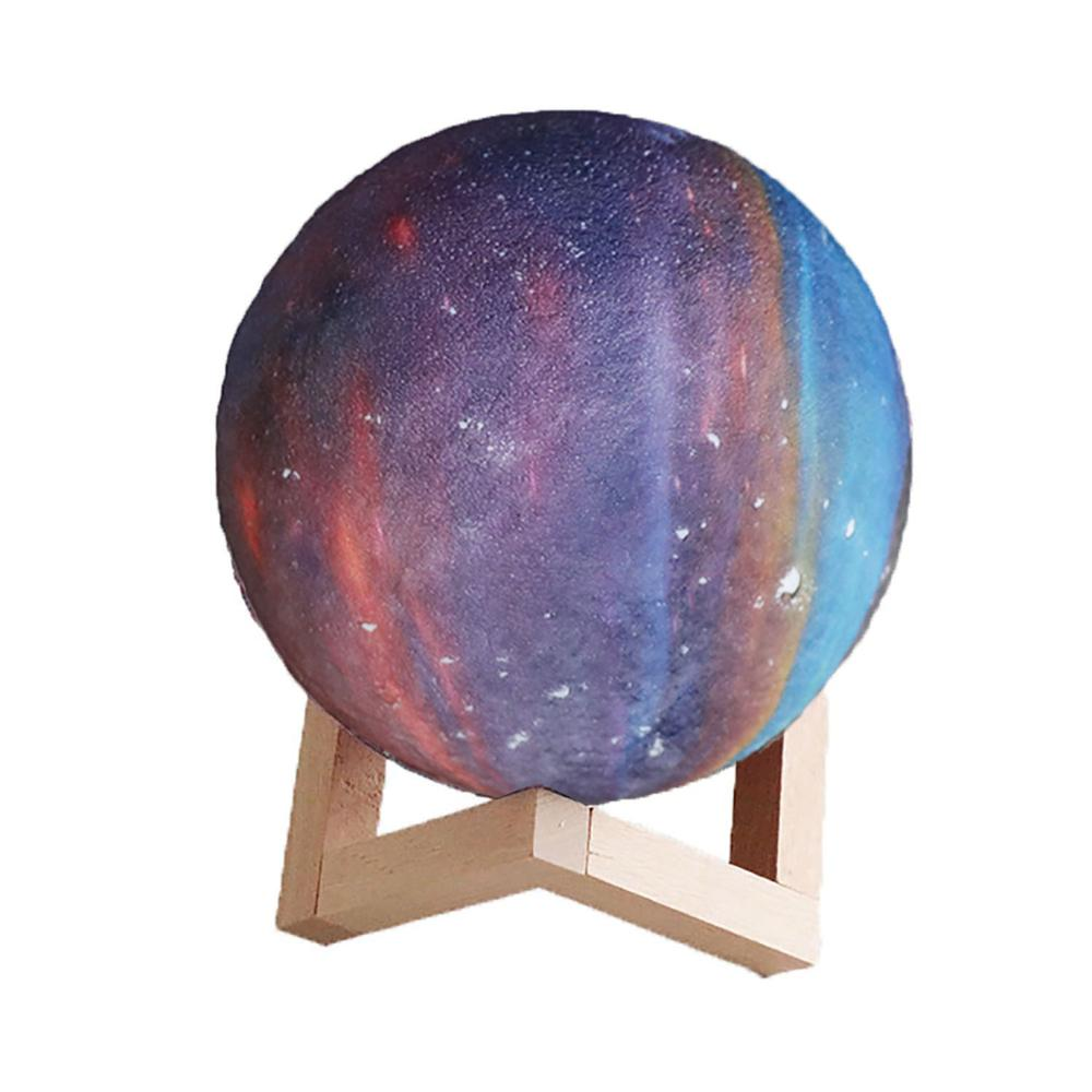 2019 New Dropship Galaxy Lamps Night Light For Home Bedroom Moon Lamps Like Moon Light As Gift For Children