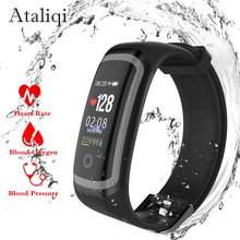 Ataliqi M4 Smart Bracelet Heart Rate Monitor Activity Fitness Tracker Smart Band Push Message Watch for Xiaomi honor IOS phone