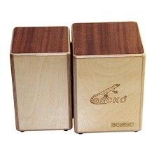 GECKO Cajon BONGO-2 Dvi Siamo beržo medienos natūralios