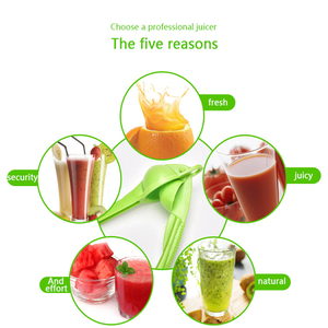 Image 5 - Chanh Orange citrus Máy ép phụ kiện nhà bếp gia đình mini đa chức năng máy xay sinh tố cầm tay công cụ nhà bếp Báo Chí Hướng dẫn sử dụng tay cầm