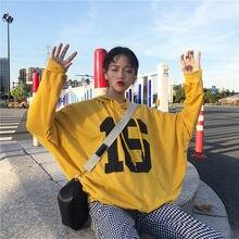 03a47d7da Harajuku BF As ruas estão soltos hoodies Treino para as mulheres hody para Casal  camisola Plus Size Carta impressão sweatshir2XL