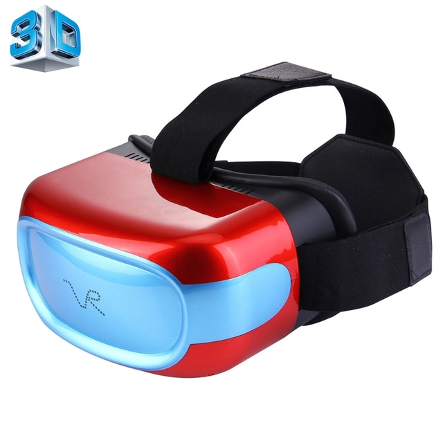 Smart Virtual Video Glass 1+8GB 3D VR Virtual Reality Headset Mobile Private Cinema Glasses Helmet Support WiFi Bluetooth