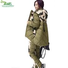 women set 2017 font b winter b font parka new fashion thick hooded cotton padded font