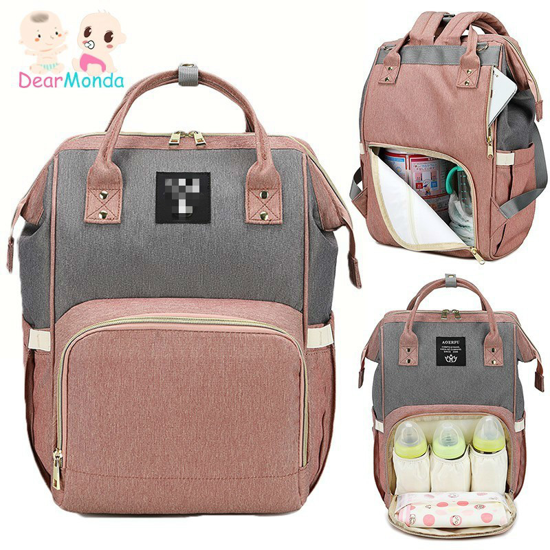 DEARMONDA 2019 Mother Diaper Bag Baby Care Backpack for Mom Mummy Maternity Wet Bag Waterproof Baby Pregnant Nursing Bag NewDEARMONDA 2019 Mother Diaper Bag Baby Care Backpack for Mom Mummy Maternity Wet Bag Waterproof Baby Pregnant Nursing Bag New